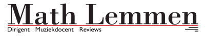Math Lemmen – Dirigent, Muziekleraar en Recensieschrijver